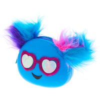 Blue Monster Jelly Coin Purse