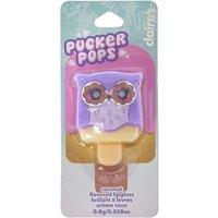 Pucker Pops Purple Owl Coconut Flavoured Lip Gloss - Coconut Gifts