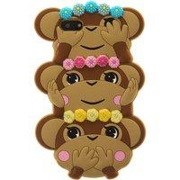 3D Trio of Monkeys Phone Case - Monkeys Gifts