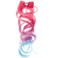 Kids Mini Bow Hair Clip with Ombre Faux Hair - Selfie Gifts