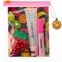 3 Pack Smiley World Fruity Lip Gloss Set - Smiley Gifts