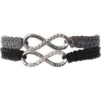Best Friend Infinity Grey Cord Bracelets - Best Friend Gifts