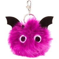 Bat Pom Pom Key Ring - Key Ring Gifts