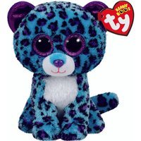 TY Beanie Boos Medium Lizzie the Leopard Soft Toy - Ty Beanie Boos Gifts