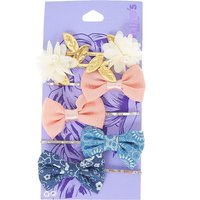 Chiffon Flowers and Bows Bobby Pins - Bows Gifts