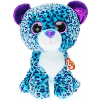 TY Beanie Boos Large Lizzie the leopard Soft Toy - Ty Beanie Boos Gifts