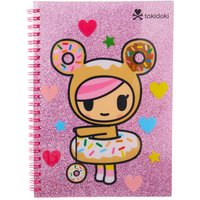 Neon Star by tokidoki Pink Glittery Notebook