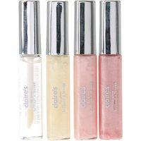 4 Pack Light Pink Shimmer Lipgloss - Lipgloss Gifts