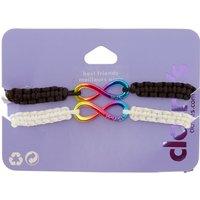 Rainbow Infinity Best Friend Bracelet Set - Best Friend Gifts