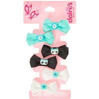 6 Pack Critters Hair Bows - Bows Gifts