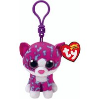 TY Beanie Boos Charlotte The Cat Keyring Clip - Keyring Gifts