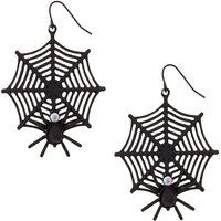 Spider Web Earrings - Spider Gifts