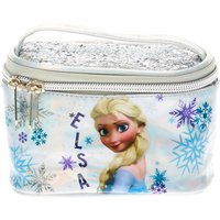 Frozen Silver Holographic Train Case - Train Gifts