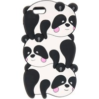 3d Trio of Pandas Phone Case - Pandas Gifts
