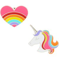 Unicorn Love Best Friend Badges - Best Friend Gifts