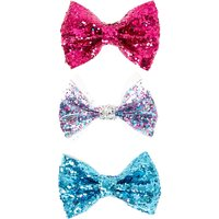 Glitter Sequin Bows - Bows Gifts