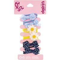 Ribbon Bows and Daisies Hair Ties - Bows Gifts