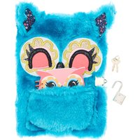 Blue Fluffy Owl Secret Diary - Fluffy Gifts