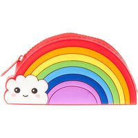 Rainbow Zip Close Coin Pouch - Rainbow Gifts