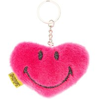 Smiley World Soft Heart Keyring - Smiley Gifts
