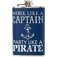 Party Like a Pirate Hip Flask - Hip Flask Gifts