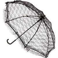 Black Lace Halloween Parasol - Halloween Gifts