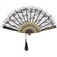Black Lace Fan - Hello Kitty Gifts