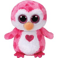 TY Beanie Boo Small Juliet the Pink Penguin Soft Toy - Lion Gifts