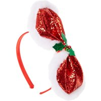 Mistletoe Glitter Bow Headband - Mistletoe Gifts