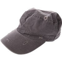 Grey Distressed Military Cap - Military Gifts