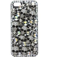 Bling Skull Phone Cover- iPhone 5 Compatible - Iphone 5 Gifts