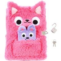 2 Pack Pink Kangaroo Lock Diaries - Kangaroo Gifts