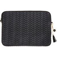 Black Chevron Chic Laptop Case - Laptop Gifts