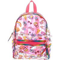 Funky Sticker Metallic Backpack - Funky Gifts