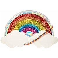 Rainbow Clouds Braided Cross Body Bag - Rainbow Gifts