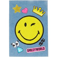 Smiley World Denim A5 Notebook - Smiley Gifts