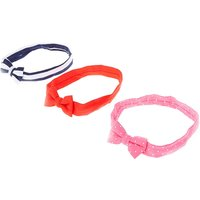 Kids Patterned Fabric Mini Bows Headwraps - Bows Gifts