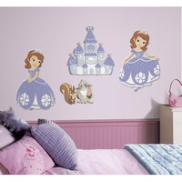 Sofia the First Wall Decals - Sofia The First Gifts