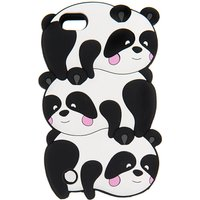 3D Trio of Pandas iPod Case - iPod Touch 5 - Pandas Gifts