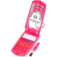 Bedazzled Rainbow Poo Strawberry Lip Gloss Flip Phone Compact - Poo Gifts