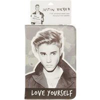 Justin Bieber Black & White Love Yourself Universal Tablet Case - Justin Bieber Gifts