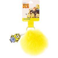 Despicable Me Minion Pom Pom Keyring - Minion Gifts