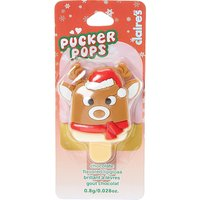 Chocolate Reindeer Pucker Pop Lip Gloss - Reindeer Gifts
