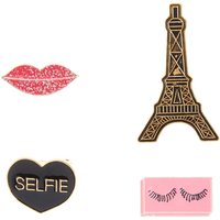 4 Pc Girly Pins - Pc Gifts