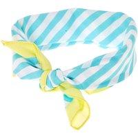 Mint & White Stripe Bandana Headwrap - One Direction Gifts