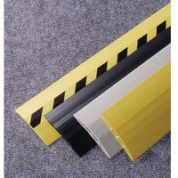 CABLE PROTECTOR PVC, 3M LENGTH WIDTH:100MM, BLACK/YELLOW