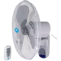 "16"" REMOTE CONTROLLED WALL MOUNTED FAN"