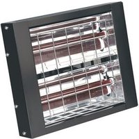 INFRARED QUARTZ HEATER - WALL MOUNTING 3000w/230v