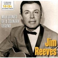 Reeves, J: Milestones of a Country Legend/10 CDs