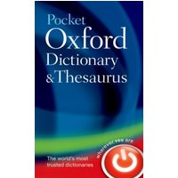Pocket Oxford dictionary and thesaurus - Oxford Dictionaries